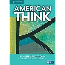 American Think Level 4 Teacher's Edition