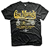 Gas Monkey Garage Oficialmente Licenciado GMG - Green Hot Rod Camiseta para...