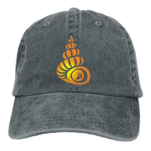 Presock Conch Cowboy Caps Unisex Adjustable Trucker Baseball Hat Deep Heather