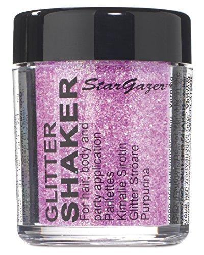 Stargazer, Maquillaje de ojos con brillos (Tono lila) - 1 unidad