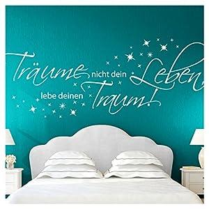 Wandtattoo Schlafzimmer Weiss   Deine-Wohnideen.de