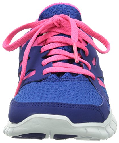 Nike Free Run 2 Gs 477701-401 Unisex - Kinder Low-Top Sneaker Blau (Game Royal/Hyper Pink-Dp Royal Blue-White)