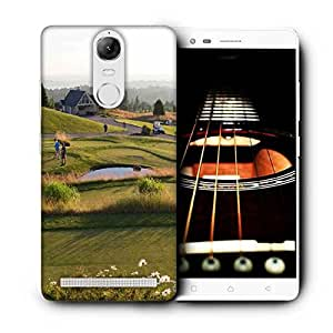 Snoogg People Playing Golf Printed Protective Phone Back Case Cover For Lenovo K5 Note