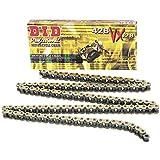 DID Kette 428 VX, 140 Glieder (X-Ring gold), offen mit Clipschloss
