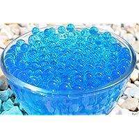 20 Cristalli di Acqua Blu Reale Palline di Biogel per Centrotavola Matrimoniale