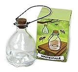 Bio Insektenfalle Wespenfalle 1-4 Stück / Effektiv gegen Wespen Fliegen etc. (1 Stück)