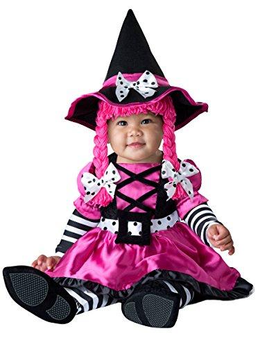 Entzückendes Zucker Hexe Baby Kostüm Größe (Kostüm Zucker Mädchen Halloween)