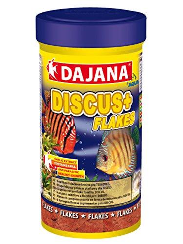 Dajana Discus Plus Flakes–Futtermittel Zusatzstoff in Schneeflocken-Discus