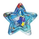 Xmansky Pentagramm Baby Wasser Spielmatte Aufblasbare, Wassermatte Splash Pad,Aufblasbare...