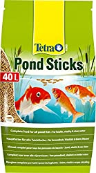 Tetra Pond Sticks, Complete Food For All Pond Fish For Health, Vitality & Clear Water, 40 Litre