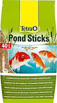 Tetra Pond Sticks, Complete Food For All Pond Fish For Health, Vitality & Clear Water, 40 Litre 0