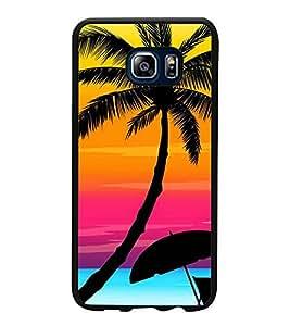 Fuson Designer Back Case Cover for Samsung Galaxy Note 5 :: Samsung Galaxy Note 5 N920G :: Samsung Galaxy Note5 N920T N920A N920I (natural beauty sun set sun rise relax seashore )