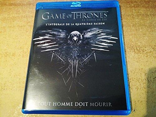 GAME OF THRONES INTEGRALE DE LA QUATRIEME SAISON (saison 4) blu ray le trone de fer