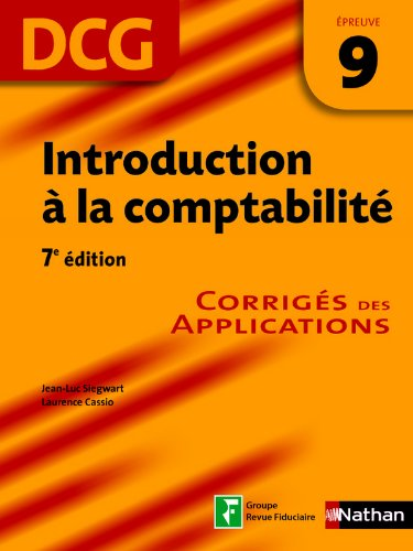 Introduction à la comptabilité