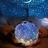 Sterne Nachtlicht Projektor Lampe, Arfbear Romantische Sternennacht Universum Licht Projektorlampe für Home Party Geburtstag Dekorationen Lichter Kinder Geschenk Spielzeug Schlafzimmer Wohnzimmer
