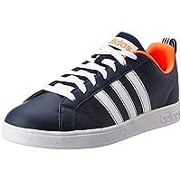 adidas Herren Vs Advantage Hallenschuhe Schwarz (Core Black/Footwear White/Footwear White 0) 48 2/3 EU