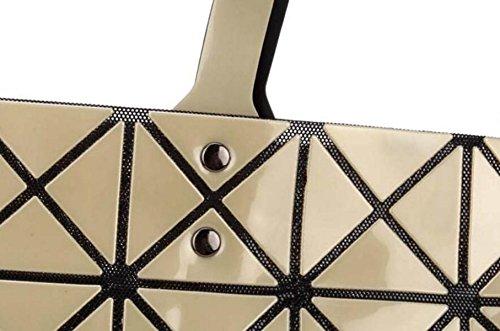 FZHLY Signore Laser Fashion Bag Geometrica Lingge Borsa,Pink Pink
