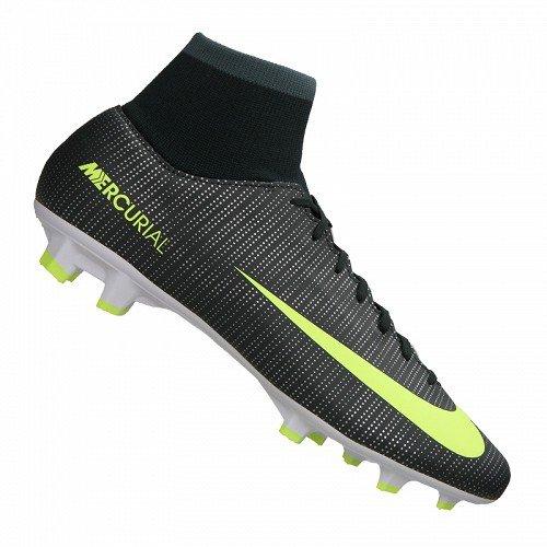 Nike Mercurial Victory Vi Cr7 Df Fg - Scarpe da Calcio Uomo, Multicolore (Seaweed/Hasta/White/Volt), 46 EU