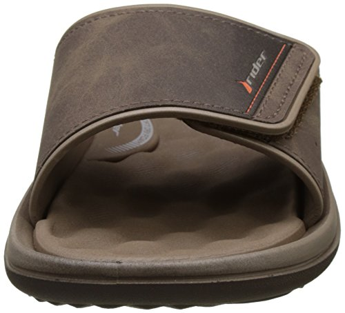 Rider Dunas Evolut Slide, Tongs Homme Marron (Brown/Brown)