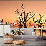 Carta da parati -premium wallpaper - Decorazione murale -Moderna semplice elegante foto murale fiori soggiorno TV sfondo Wallpaper Home Decoration-250x175cm