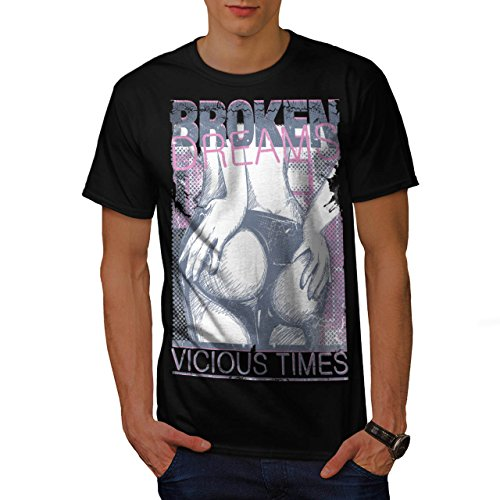 Mädchen Hintern Träume Sexy Zeit Gammler Herren M T-shirt | Wellcoda (T-shirt Garage Zeit)