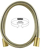 Santras Brauseschlauch bronze - einseitig verdrehsicher - 1,50 m