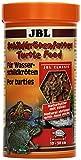 JBL 70363 Hauptfutter für Wasserschildkröten von 10 - 50 cm, Naturfutter mit Sticks, Schildkrötenfutter, 1er Pack (1 x 250 ml)