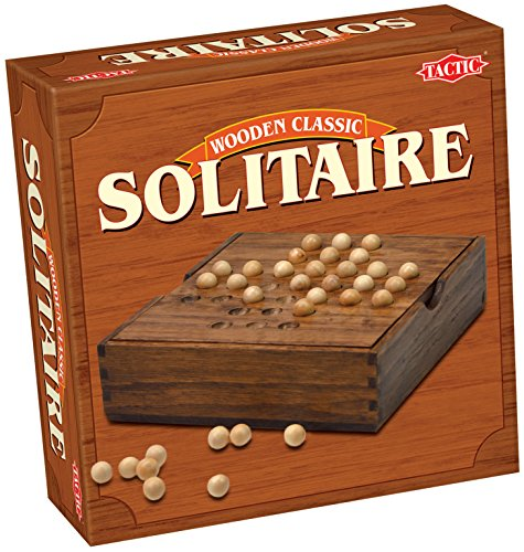 Tactic Solitaire Strategy board game - Juego de tablero (Children & Adults, Niño/niña, DUT, Interior, Strategy board game)