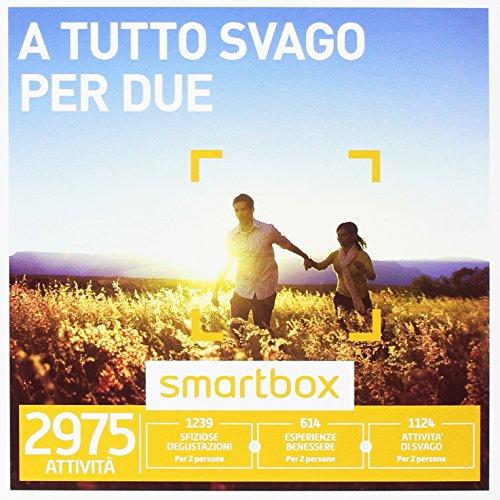 smartbox - Cofanetto Regalo - A Tutto Svago per Due - 2975 esperienze tra attività di Gusto, Benessere o Svago
