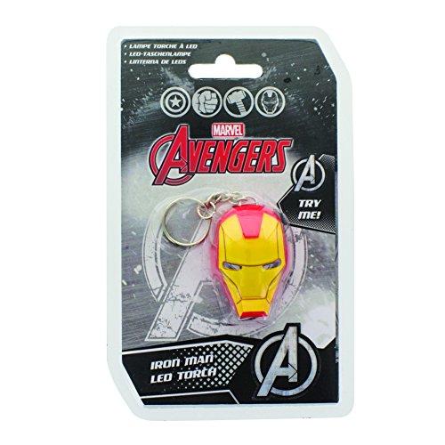 Marvel Comics Light-Up Portachiavi Iron Man