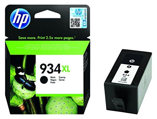 HP 934XL Cartouche d'Encre Noir Grande Capacité Authentique (C2P23AE)