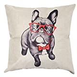 Die besten Slimmingpiggy Beddings - Slimmingpiggy Slimmingpiggy Comfortable Bedding Wear Glasses Belldog 20x20 Bewertungen