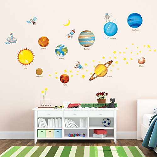 decowall-dw-1307-planetas-en-el-espacio-vinilo-pegatinas-decorativas-adhesiva-pared-dormitorio-salon