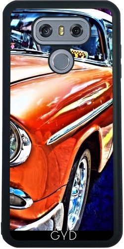 SilikonHülle für LG G6 - Kuba Taxi by Brian Raggatt