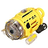 TechnQ Silverlit Ferngesteuertes U-Boot mit 0,3 MP Kamera und Lichtfütterung für Kinder