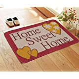 Saral Home Printed Anti Slip Jute Doormat -50X70 Cm