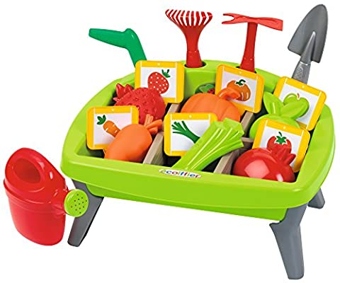 Ecoiffier Vegetables Garden Set with Accessories