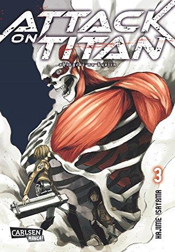 Buchseite und Rezensionen zu 'Attack on Titan, Band 3' von Hajime Isayama