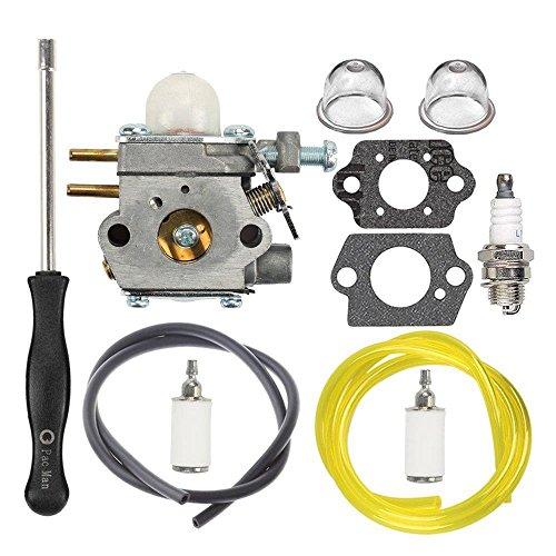 753 06190 Carburateur avec ligne de carburant filtre Bougie d'allumage pour  MTD Troy Bilt Tb21ec Tb22 Tb22ec Tb32ec Tb42bc Tb80ec Tb2040 X P