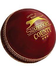 Slazenger County Cricket entrenamiento deportivo y la práctica Grado Un match ball 5–1/2oz