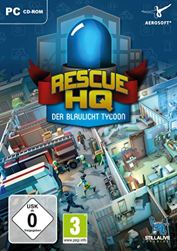 Der Blaulicht Tycoon - Rescue HQ - [PC]