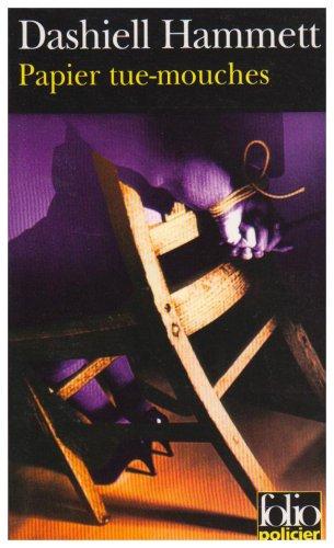 Papier tue-mouches par Dashiell Hammett