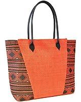 Womens/Ladies Lightweight Aztec Print Summer Handbag