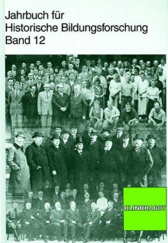 Jahrbuch für Historische Bildungsforschung. Band 12