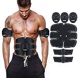 CosyVie Electroestimulador abdominal Músculo EMS para Abdomen/Ejercicio de piernas/Músculo Brazo Abdominal Máquina inteligente y portátil para hombre y mujer
