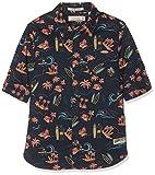 Scotch & Soda Shrunk Jungen Hemd Regular FIT Cotton Linen Shirt 149306, Gr. 128 (Herstellergröße: 8), Mehrfarbig (Combo X 603)