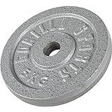 Gorilla Sports Hantelscheiben Gusseisen, 5kg, 10000538;427