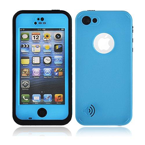 Redpepper Coque étanche/antichocs/antisalissures pour iPhone 5/5c/5s, Bleu ciel, 5/5s Bleu ciel