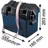 Batteriekasten mit Deckel und Gurt für Batterien 35