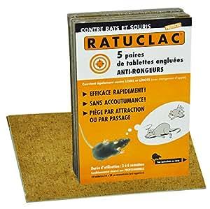 """Paquet de 10 Piéges à souris et rats """"ratuclac"""" professionnels"""